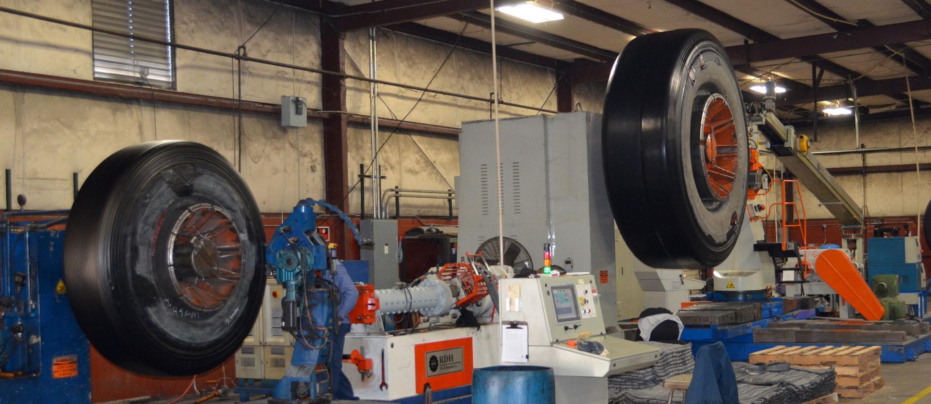Industrial Tire Retreading   RDH Tire & Retread